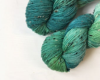 4ply Donegal Tweed - Forest pool