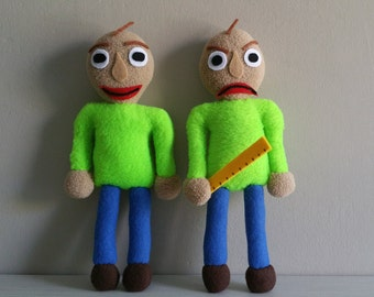 Ready to ship Baldi plush pocket version (unofficial), baldi's basics in education and learning,baldi toy,markiplier game,baldi's plushie