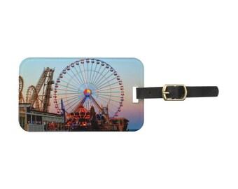Ferris Wheel Luggage Tag