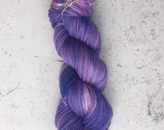 Hand Dyed Bulky Yarn, Knitting Yarn, 100% Superwash Merino Wool, 100g/137 yards