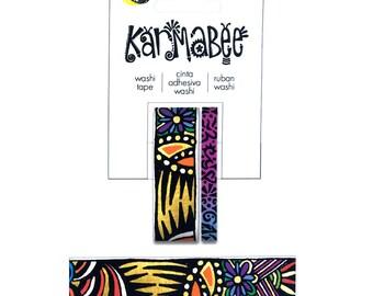 Karmabee Tribal Pattern Washi Tape