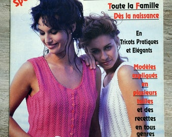 Magazine knitted Prestige 77 (Vintage)