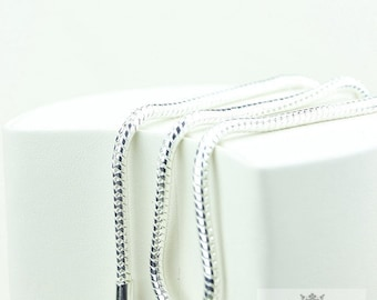 In Stock!! 2MM/3MM /4MM SNAKE CHAIN: 16/18/20/22/24/26/28/30 Inches USPS First-Class Mail® 4 days with Tracking #