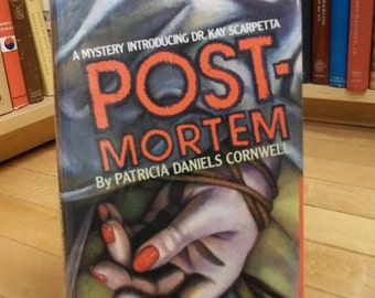 Postmortem by Patricia Daniels Cornwell published 1990. Vintage Mystery / Crime Fiction / Thriller Book