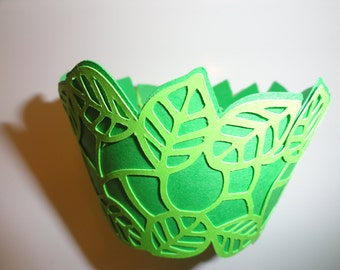 Leaf Cupcake Wrappers
