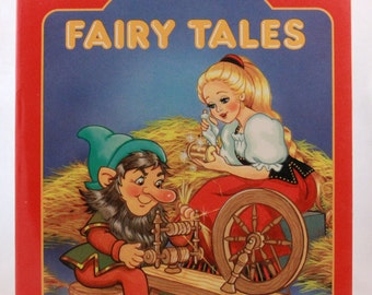 New - Old Stock 1990 Fairy Tales - A Giant Coloring Book - Golden