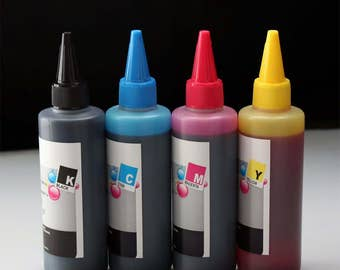 400ml Dye Ink for Epson workforce wf 7610 7620 2630 2650 2660 2640 2520 2530 545 630 633 635 645 2540 3620 3640 7110 printer