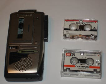 Olympus J300 Pearlcorder MicroCassette Recorder Actived TBE Voice recorder