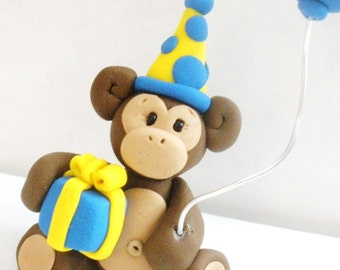 Monkey Cake Topper - YOU DESIGN