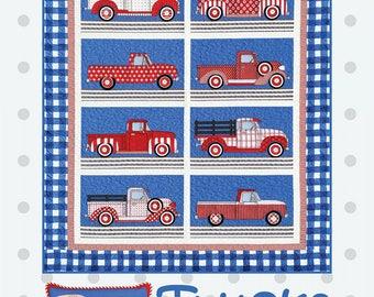 Trucks Quilt Pattern by Amy Bradley