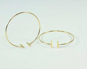 Thin Bracelet Gold, Silver Minimal Bracelet Gold, Minimal Gold Bracelet, Gold Bracelet Minimal, Thin Gold Bracelet, Bar Bracelet, Gold Cuff