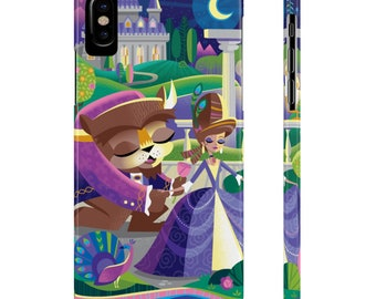 Beasts Castle By Jeff Granito Slim Phone Case