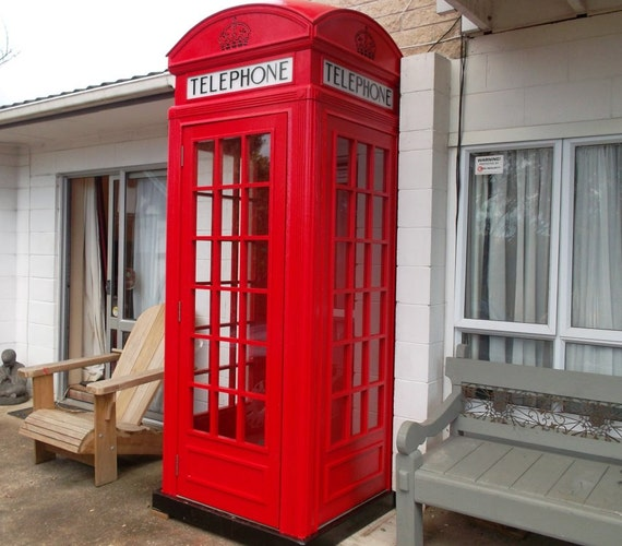 Red English Telephone Booth Plans Pdf Downloadable File