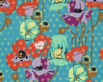 Raindrop Poppies - Candy -  Floral Retrospective - Field Study - Anna Maria Horner - 100% Quilters Cotton PWAH050