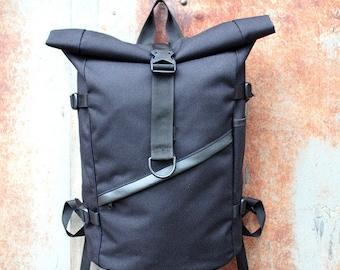 Roll top backpack,Waterproof backpack,Vegan backpack,Rolltop backpack,Laptop backpack,Waterproof Rucksack,Hipster backpack,Vegan rucksack