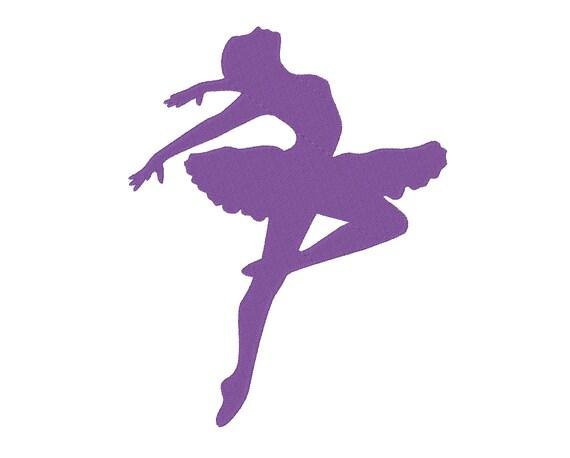 Salto De Bailarina Ballet Bailarina Silueta Diseño De