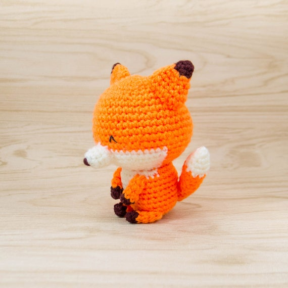 Amigurumi-Kit Fox-häkeln-Kit Fox Bausatz Fuchs Fuchs