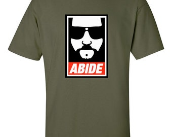 Abide Obey Style - The Big Lebowski - T Shirt
