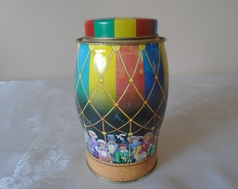 collectors candy tin