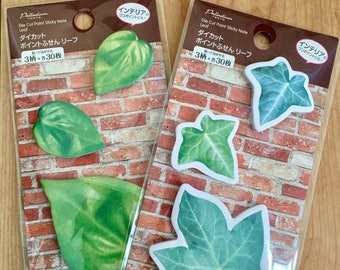 Japanese Leaf Sticky pad (2 packages)