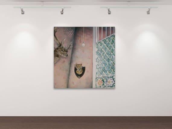 Stillleben - Kunstdruck Gemälde von Stephanie Oncken