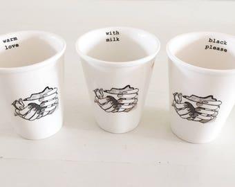 Coffeecups, hot love