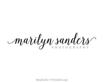 Typography logo photography logo calligraphy logo handwritting logo text only logo