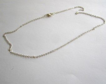 chain mesh chain with lobster clasp