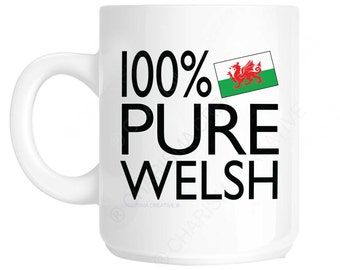 Welsh 100 percent Novelty Fun Mug CH377