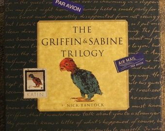 The Griffin and Sabine Trilogy (3-Book Set) | Nick Bantock (1994, Chronicle Books)