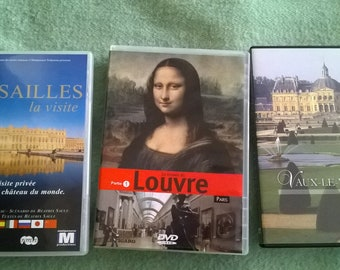 480) set of 3 DVDs from France