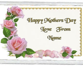 Mother's Day Acrylic Fridge Magnet Number 2