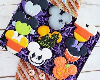 Disney Inspired Halloween Cookies - Halloween Cookies - Ready for Gift Giving
