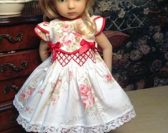 "Effner Little Darling Doll  ""Smocked Roses""   [No Doll]"
