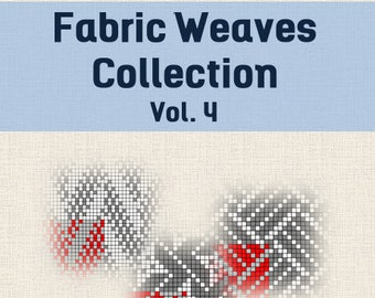 Fabric Weaves Collection Vol. 3 - Weave Pattern Book