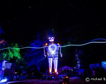 Electric Robot at Desert Hearts