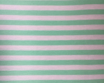 Baby Green & White Jersey Baby Blanket
