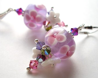 Orchid blossom - Earrings