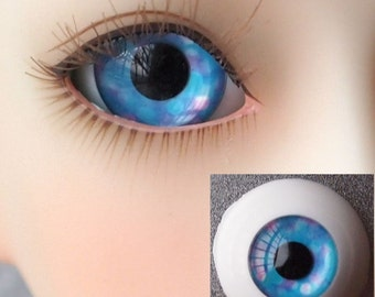 Dream Bubble Doll Eyes for BJD Dollfie 12mm 14mm 16mm 18mm 20mm 22mm Pink