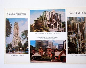 Churches new York City 1952