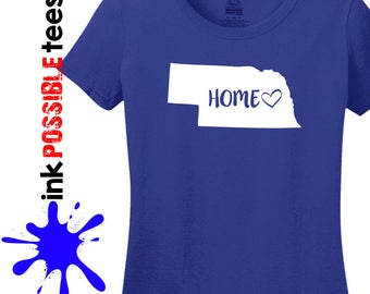 Nebraska Home Shirt Nebraska Gift T-Shirt Roots Native