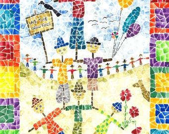 Scarecrow  Mosaic