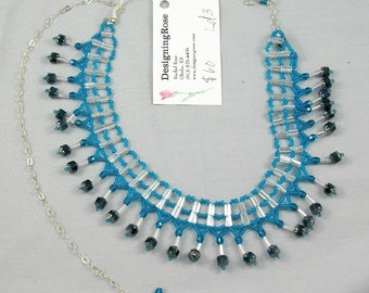 capri ladder st. necklace