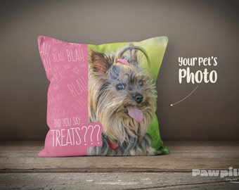 Custom Pet Pillow - Personalized Dog Pillow - Custom Dog Pillow - Custom Pet Pillow - Funny Pet Pillow - Custom Gift - Personalized Gift
