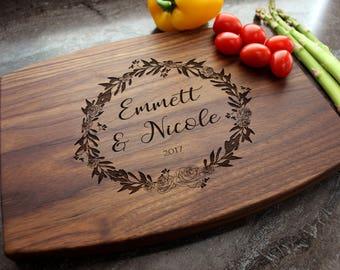 Personalized Cutting Board - Engraved Cutting Board, Custom Cutting Board, Wedding Gift, Housewarming Gift, Anniversary Gift, Engagement #20