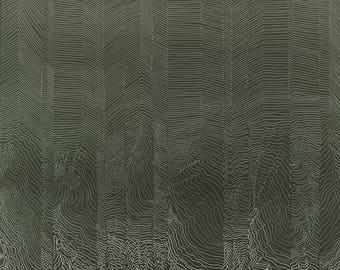 The Bricks, Art illustration, Organic lines, Digital print, Drawing, Art print