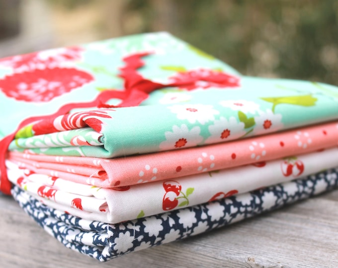 The Good Life by Bonnie & Camille for Moda ~ 4 Half Yard Bundle Floral