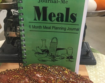 Journal-Me Meal Planning Journal