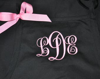 Personalized Apron - Chefs Gourmet Apron - Monogrammed Apron - Embroidered Apron - Apron with Name - Monogram Apron