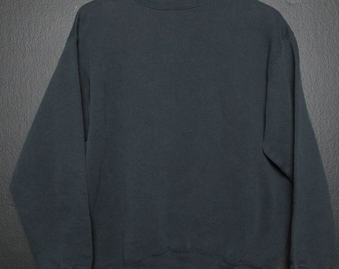 Vintage Black Crewneck Sweatshirt